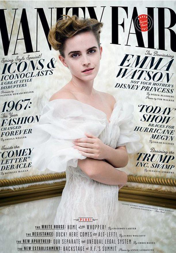Emma Watson nähdään tuoreess Vanity Fair -lehdessä.