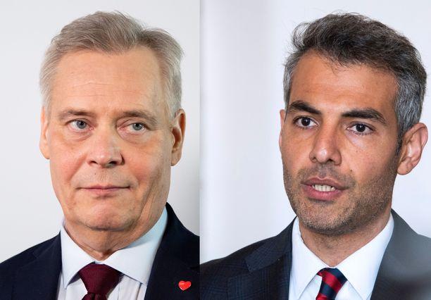 Antti Rinne ei näe tällä hetkellä estettä Hussein al-Taeen jatkolle kansanedustajana.