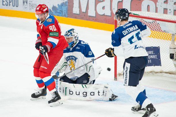 Venäjä voitti Suomen 3-0.