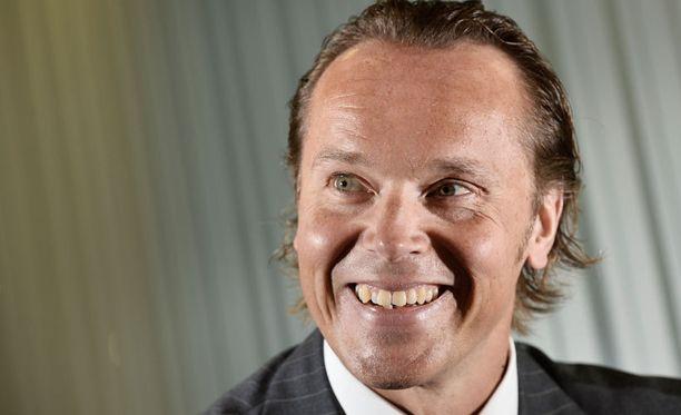 Liigan toimitusjohtaja Kimmo Rannisto.