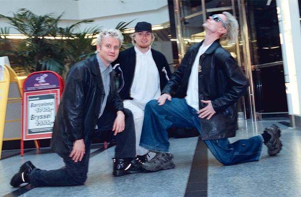 Raptori esiintyy jälleen. Edellisen comebackin yhtye teki kymmenen vuotta sitten.