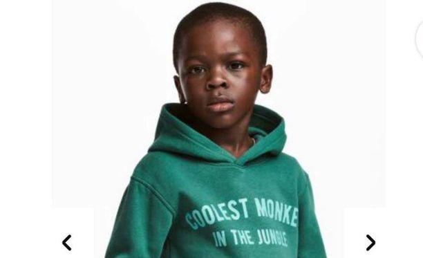 """Kohu lähti tästä mainoksesta. Tumma poika ja teksti """"Viidakon siistein apina"""" oli useille liikaa."""