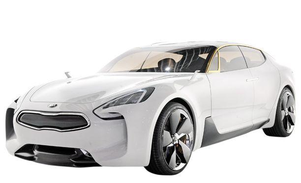 Neliovinen sedanmallinen prototyyppi edustaa uudenlaista Kia-muotoa. Auto on takavetoinen, nelipaikkainen ja sporttisen oloinen.