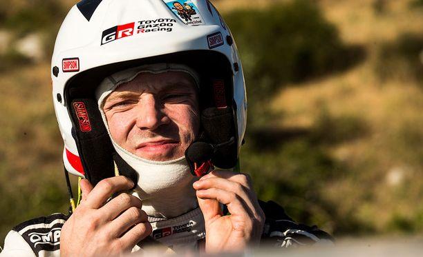 Jari-Matti Latvala oli kahdeksannen ek:n toiseksi nopein.
