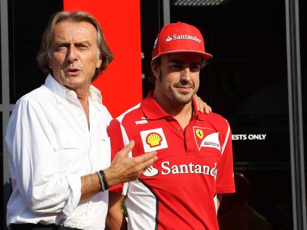 Luca di Montezemolo ja Fernando Alonso eivät päässeet juhlimaan maailmanmestaruutta yhteisinä Ferrari-vuosinaan (2010–2014). Lähellä se oli kahdesti, vuosina 2010 ja 2012.