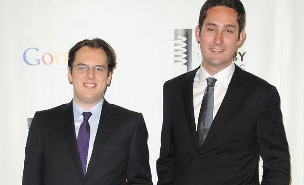 Instagramin perustajat Mike Krieger (vas.) ja Kevin Systrom (oik.).