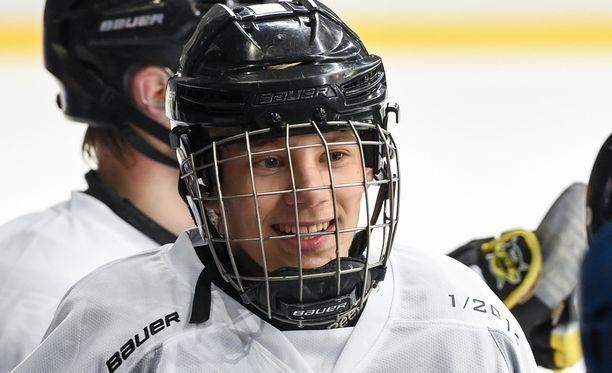 Wiljami Myllylä kuuluu alle 16-vuotiaiden maajoukkueeseen.