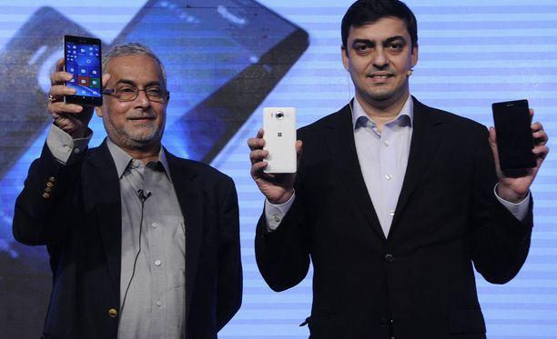 Lumia 950 ja Lumia 950 XL -mallit esiteltiin syksyllä 2015.