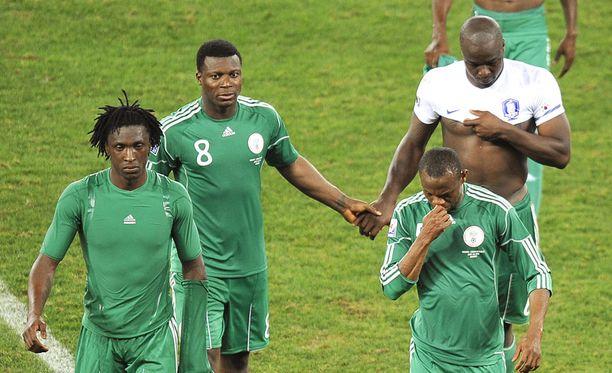 Nigeria ei selviytynyt jatkoon MM-kisojen alkulohkovaiheesta. Se saavutti alkulohkossa ruotsalaisvalmentaja Lars Lagerbäckin johdolla vain yhden pisteen.