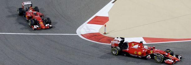 Kimi Räikkösen ja Sebastian Vettelin vahvuudet ovat erilaiset, mutta uusi auto on heille molemmille parempi kuin viime vuoden auto.