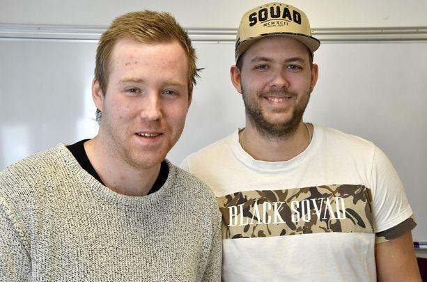 Robin Dahlén ja Christian Karlsson aikovat kirjoittaa kirjan.