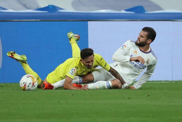 Real Madridilla ei ollut helppoa Villarrealia vastaan.