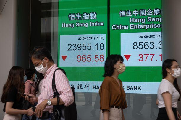Tunnelma osakemarkkinoilla on nyt huono, ja se johtuu suureksi osaksi sijoittajien Kiina-huolista.