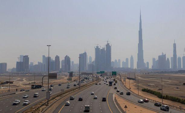 Dubain Sheikh Zayed Roadilla sattuu paljon kolareita.