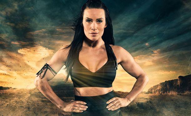 Martina Aitolehti on Gladiaattoreissa Pantteri.