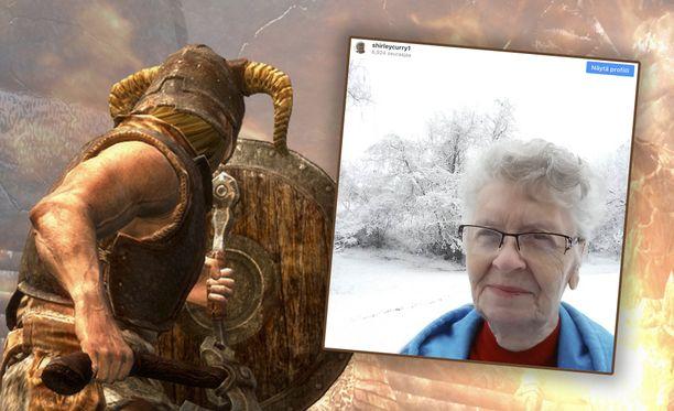 Skyrim-mummo on kyllästynyt jatkuvaan valitukseen.
