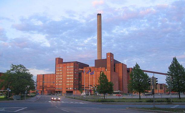 Moskeijaa ja monitoimikeskusta on suunniteltu Helsingin Hanasaaren voimalaitoksen ja Sörnäisten rantatien väliselle alueelle.