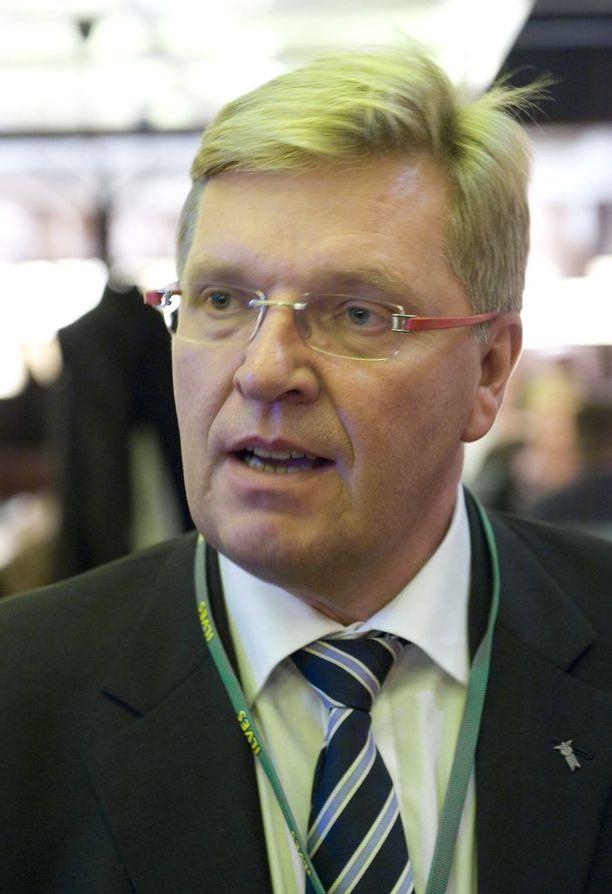 Entinen NHL-maalivahti Markus Mattsson vuonna 2010.