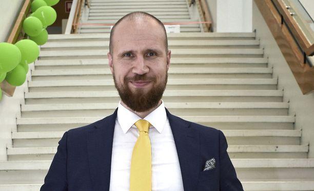 Touko Aalto on tyytyväinen puolueen kannatukseen tuoreesta gallup-notkahduksesta huolimatta.
