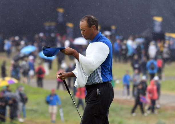 Tiger Woodsin pelit päättyivät lyhyeen The Openissa.