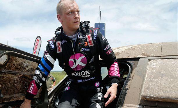 Mikko Hirvosen ensimmäinen Dakar-ralli alkoi mallikkaasti.