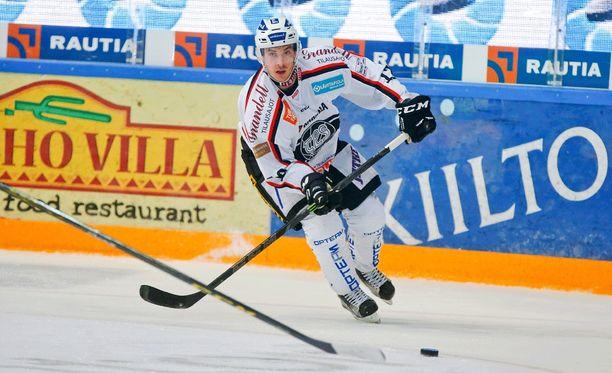 Dave Spina iski Tampereella tehot 1+1.