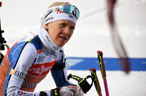 Kaisa Mäkäräinen nauttii yhä huippu-urheilun elämäntyylistä.