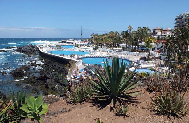 Puerto de la Cruzissa voi nauttia jo varsin kesäisistä säistä.
