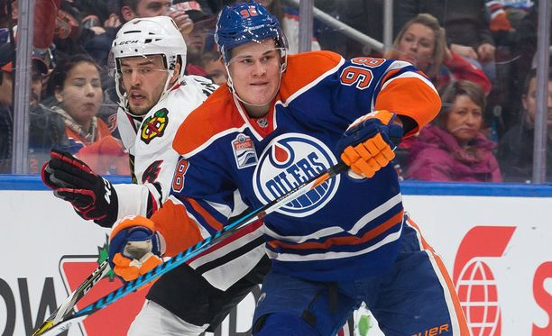 Jesse Puljujärvi on jäänyt vähälle vastuulle Edmontonissa.