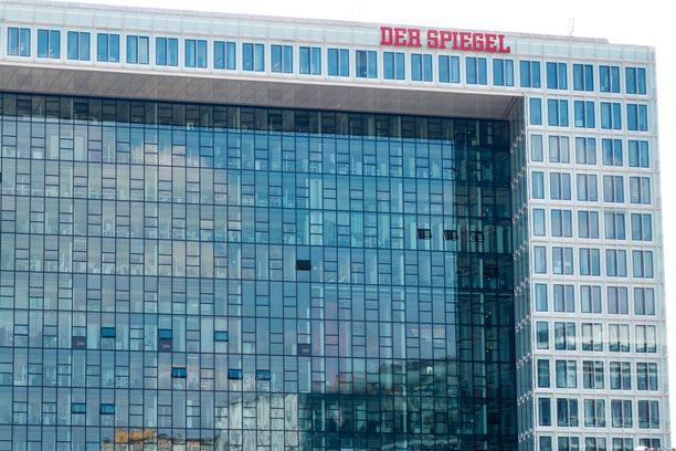 Der Spiegel-lehden toimitalo Hampurissa, Saksassa.