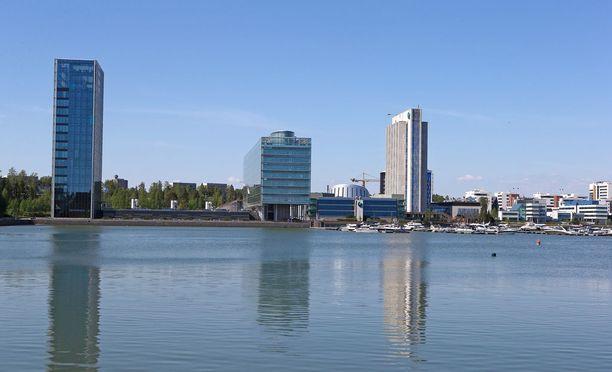 Koodaajia koulutetaan Espoossa.