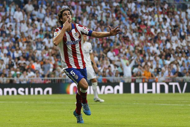 Portugalilainen Tiago teki Atleticon avausmaalin.
