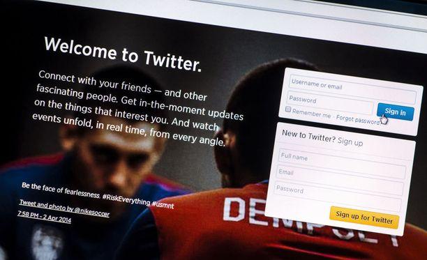 Twitter-yhteisöpalvelu korvasi tähdet sydämillä. Sydämillä voi ilmaista tykkäävänsä toisten käyttäjien twiiteistä.