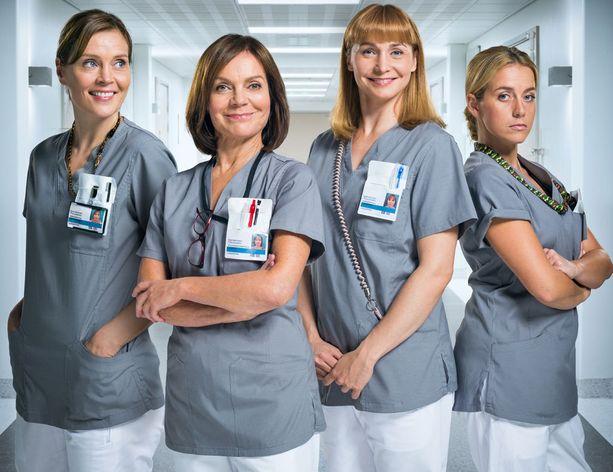 Sairaalasarjan pääosissa nähdään Tiina Lymi, Lena Meriläinen, Leena Pöysti ja Iina Kuustonen.