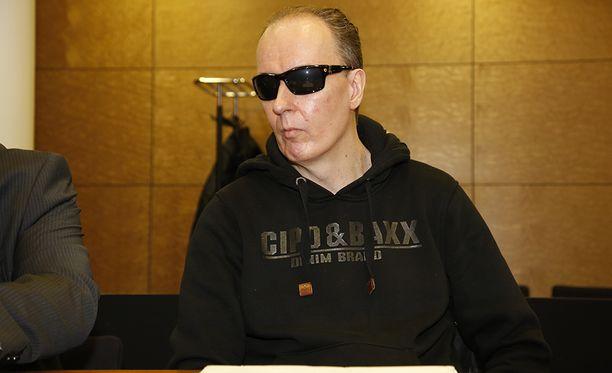 Michael Penttilä oikeudessa tiistaina.