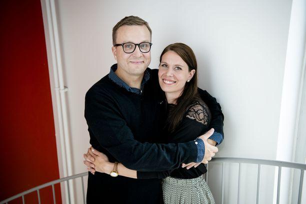 Anttia ja Saria yhdistää esimerkiksi sama huumorintaju.