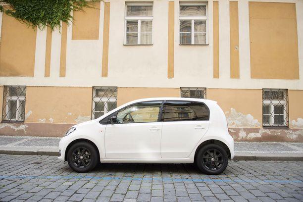 Ulkoa pieni. Škoda Citigo on sisältä yllättävän tilava.