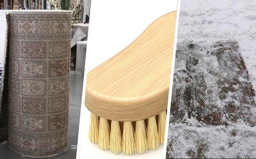 """Talven paras siivousniksi puhdistaa matot: """"Lumi paljasti lian ja pölyn"""""""