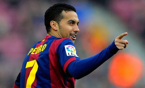 Pedro, 27, teki syyskaudella kolme maalia.