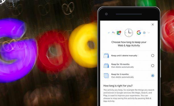 Googlen asetusten kautta voi pian hallita paremmin, miten omia tietojaan tallennetaan.