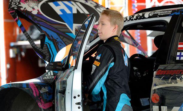 Kalle Rovanperä ajaa viimeistä kilpailuaan ennen lokakuun lopussa koittavaa MM-rallidebyyttiä.