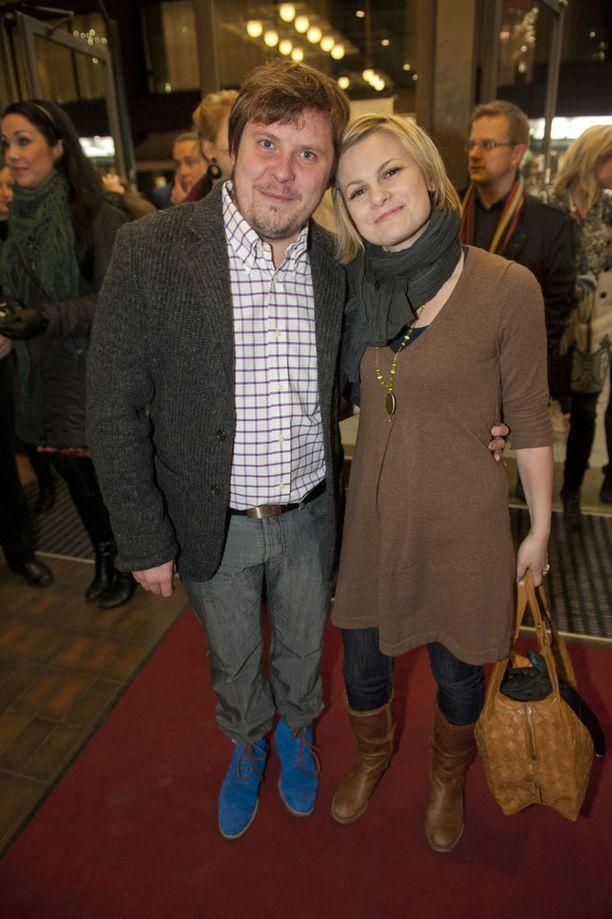 Janne ja Ulla Kataja eroavat. Kuva vuodelta 2011.