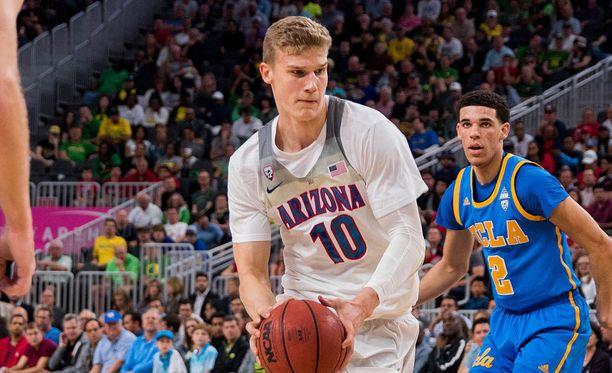 Lauri Markkanen lähtee NBA-draftiin.