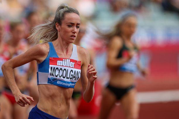 Eilish McColgan ei jäänyt hiljaiseksi, kun hänen ulkonäköään arvosteltiin.