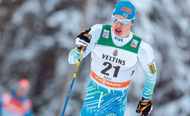 Iivo Niskanen oli Otepäässä paras suomalainen.