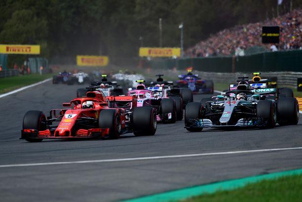 Onko tämä näky joskus todellisuutta Suomessa? F1-kilpailun hakemisen edellytyksiä selvitetään parhaillaan.