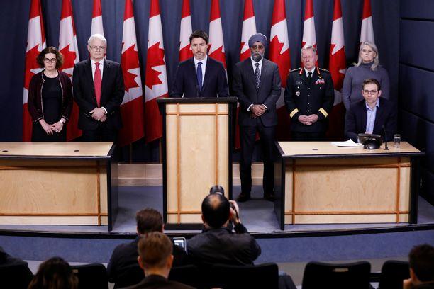 Justin Trudeau sanoi antavansa lisätietoja turmatutkinnan edetessä.