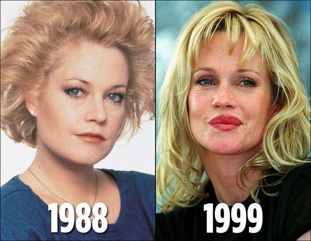 Vuosien varrella elokuvatähti on muuttunut huimasti.