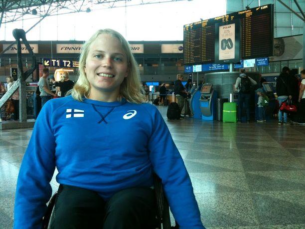 Nelinkertainen MM-mitalisti Amanda Kotaja lähtee Lontooseen vaatimattomin odotuksin.