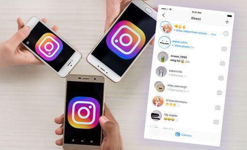 Instagram testaa uutta viestisovellustaan.